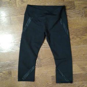 Black Workout Capris